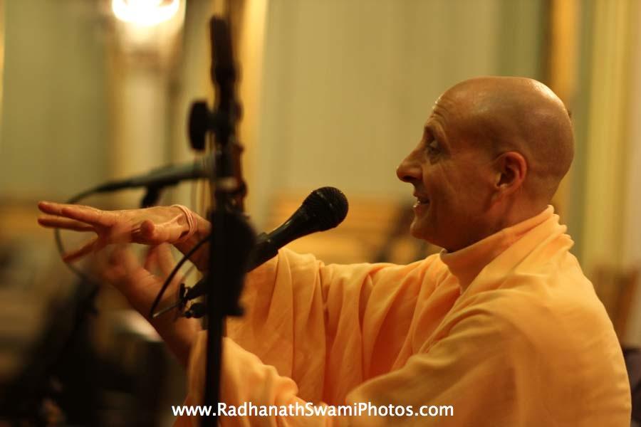 Talk by HH Radhanath Swami at Elkins Estate