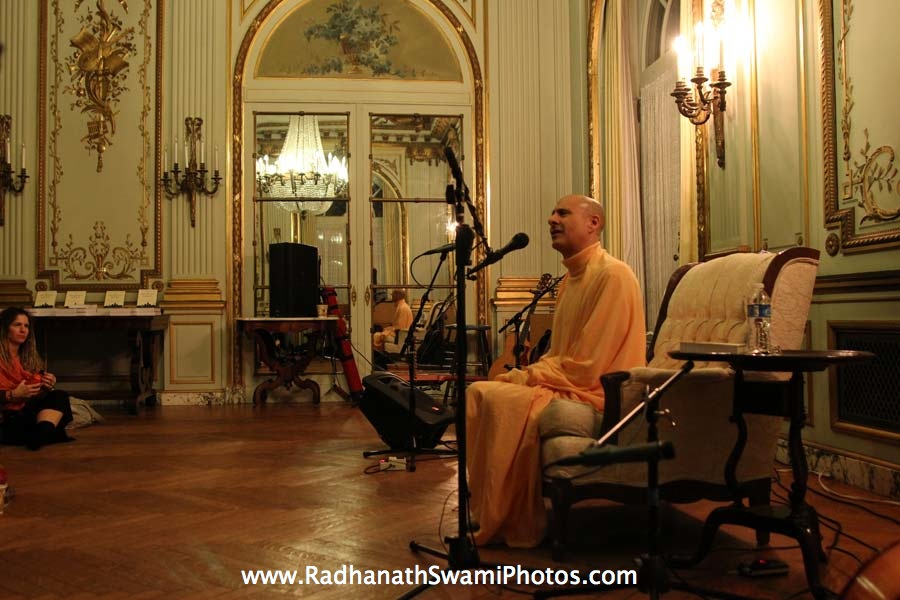 Radhanath Swami Maharaj in USA