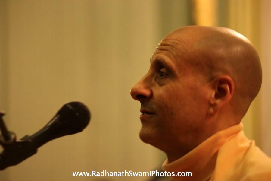 Talk by HH Radhanath Swami Maharaj at Elkins Estate