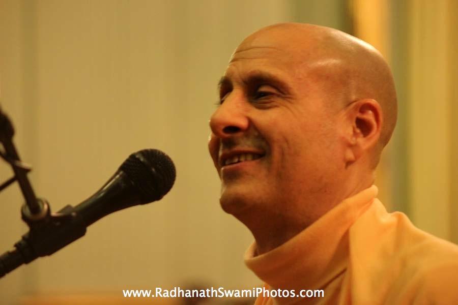 Talk by Swami Radhanath Maharaj at Elkins Estate