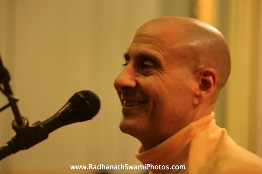 Talk by Swami Radhanath Maharaj at Elkins Estate