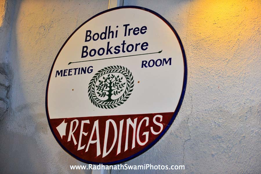 Radhanath Swami at Bodhi Tree Event
