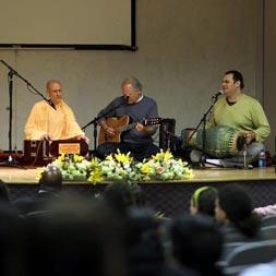 Swami Radhanath at Boston University