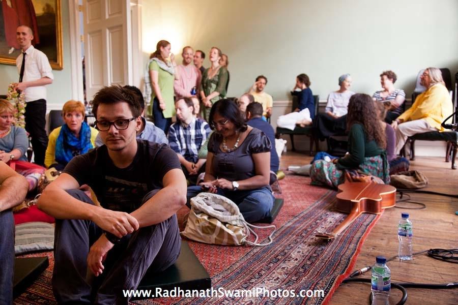 Guests at Kirtan London Launch