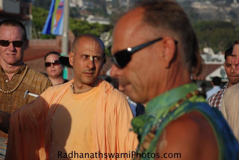 Radhanath Swami at Los Angeles