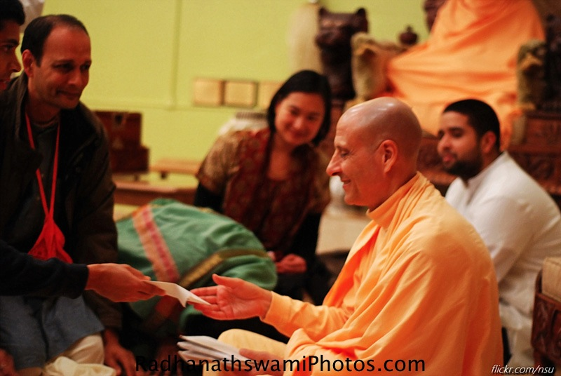 Radhanath Swami's visit to Los Angeles