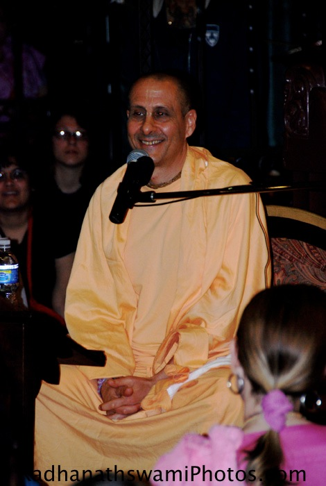 Talk by HH Radhanath Swami in Los Angeles-