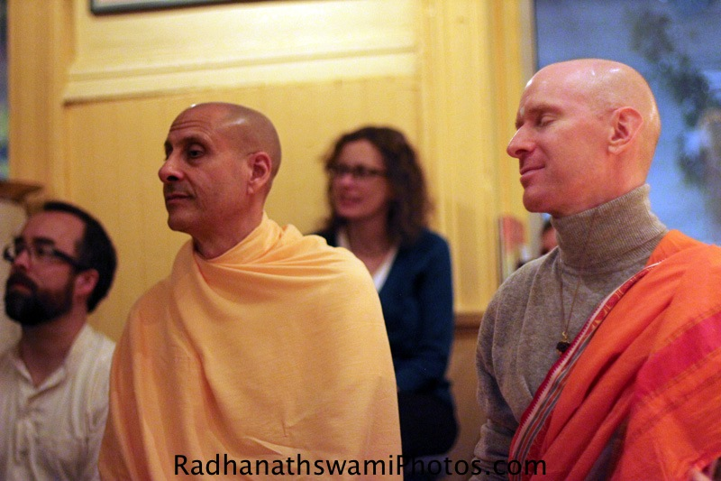 Radhanath Swami at Broome Street Temple