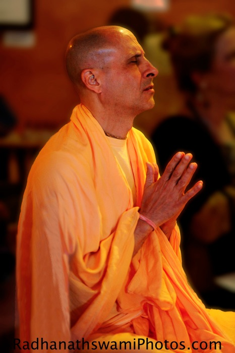 Radhanath Swami at Soul Food Book Store, Seattle
