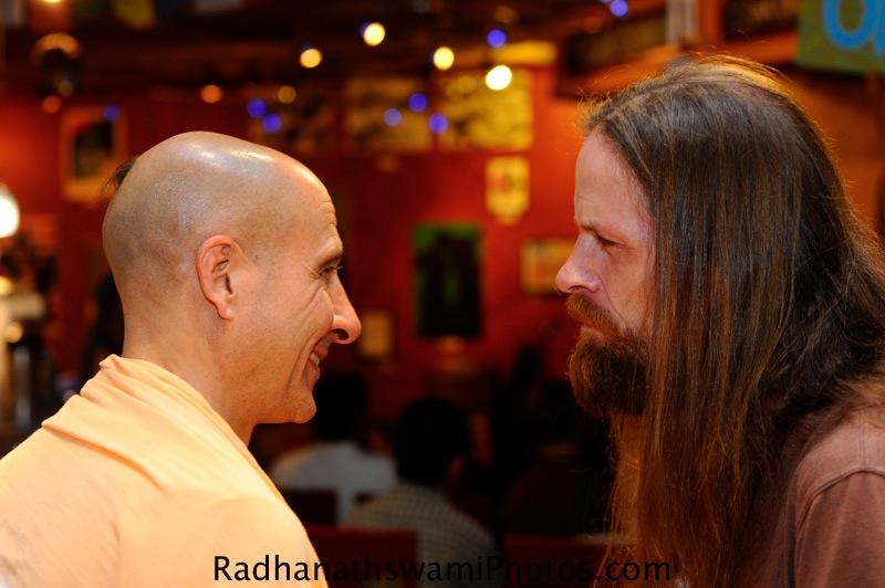 Radhanath Swami in Seattle