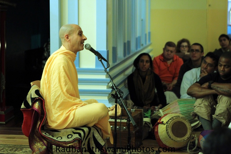 Talk by HH Radhanath Swami at Broome Street Temple