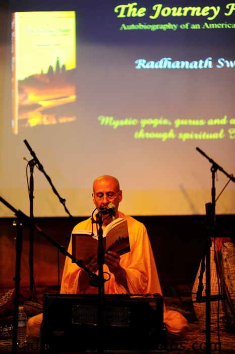 Talk by HH Radhanath Swami at Seattle