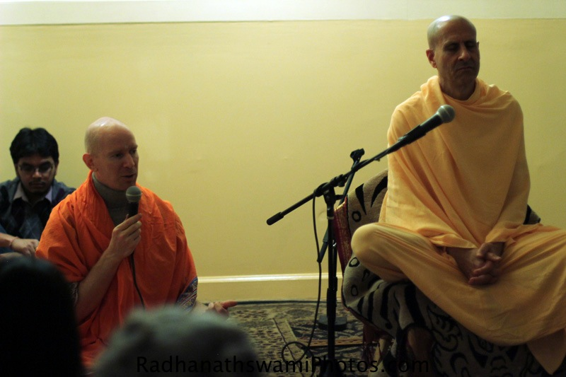 Talk by Radhanatha Swamy at Broome Street Temple