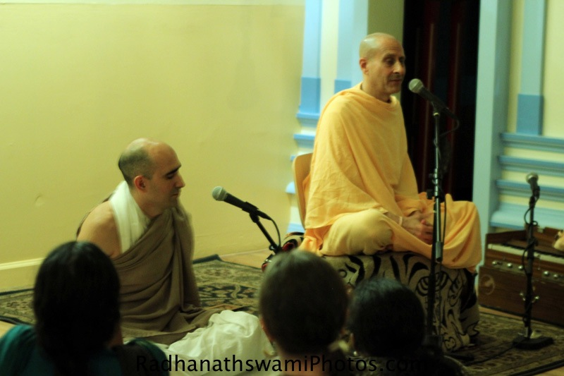 Talk by Swami Radhanath at Broome Street Temple