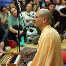 Radhanath Swami at Jivamukti Yoga Studio