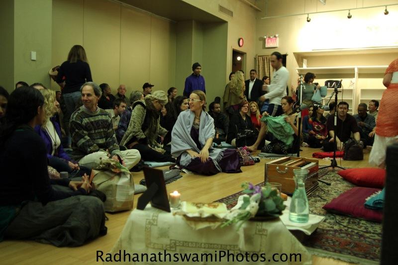 Radhanatha Swamy at Jivamukti Yoga Center
