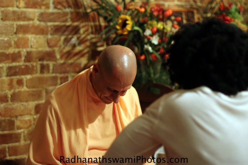 Radhanath Swami at Kula Yoga Center, New York