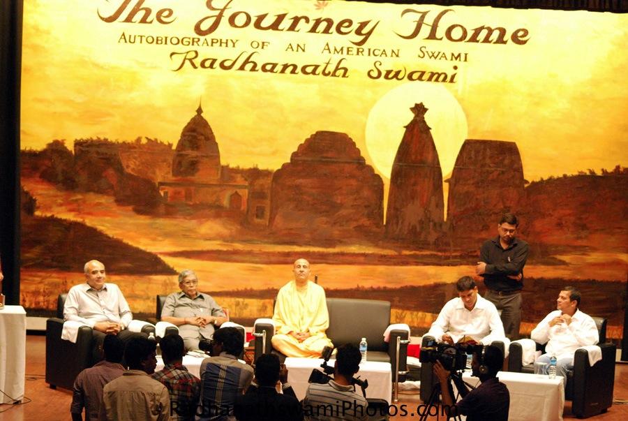 Radhanath Swami at KIIT University, Orrisa