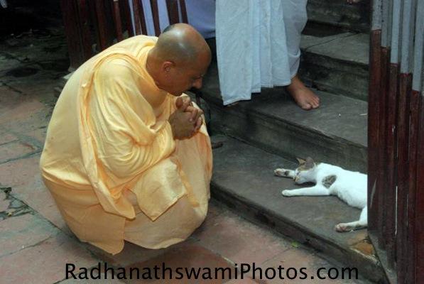 Radhanath Swami at Kolkata
