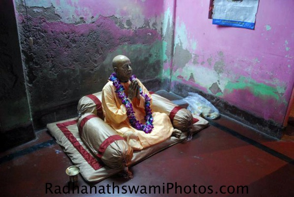 Srila Prabhupada at his Birth Place in Kolkata, India