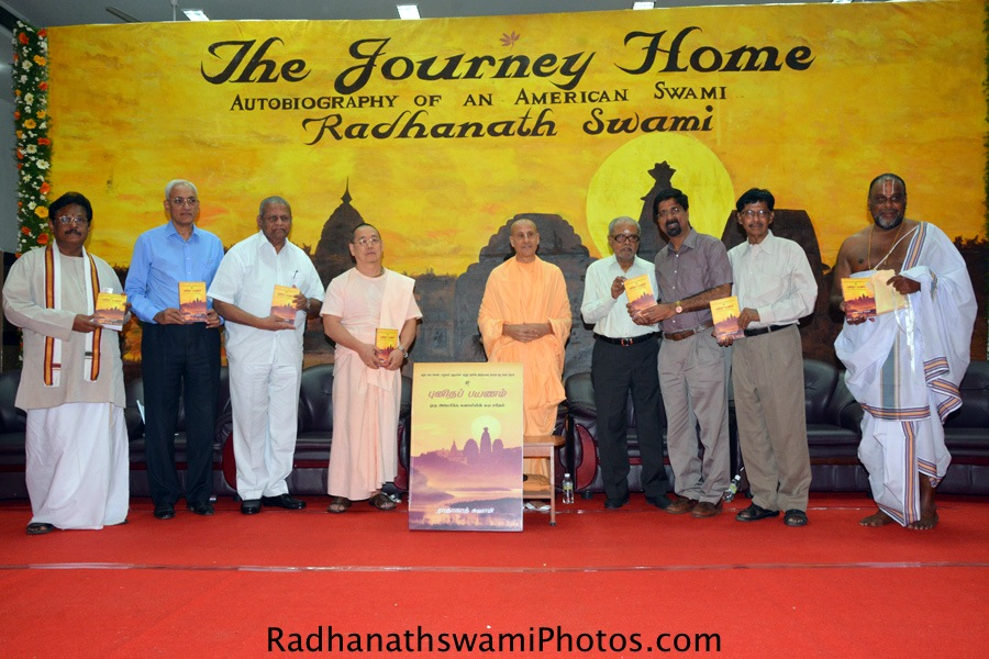 The Journey Home Book launch at Chennai