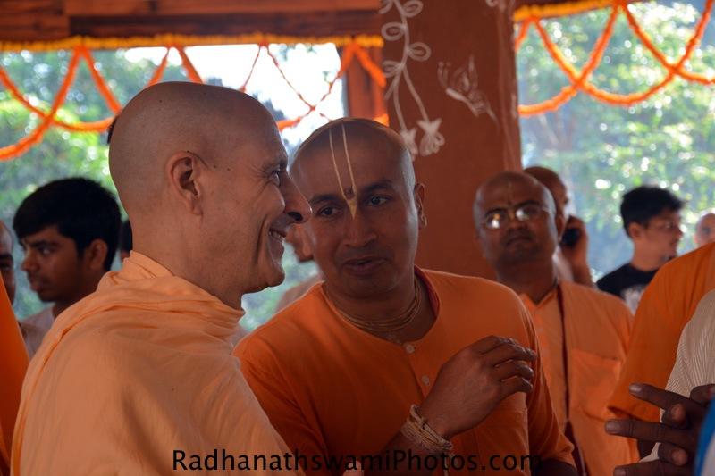 Radhanath Swami Maharaj at GEV