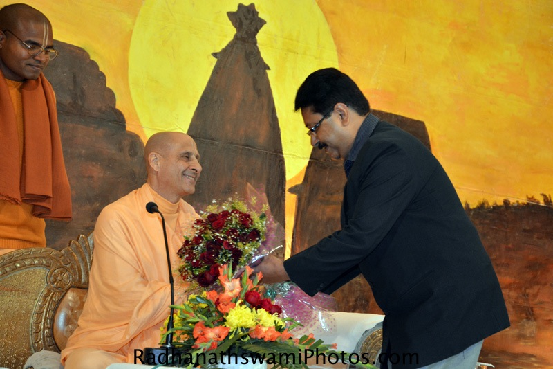 Radhanath Swami at Ranchi
