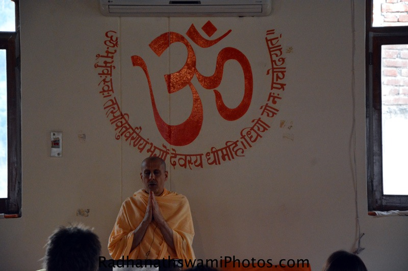 Radhanath Swami at Rishikesh