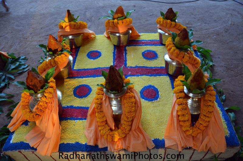 Wada farm temple opening