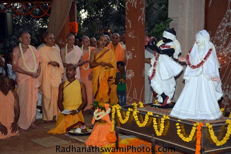 Deities at GEV Temple
