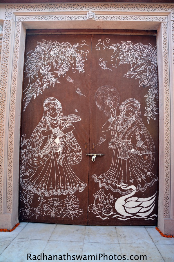 Entrance door for Alter