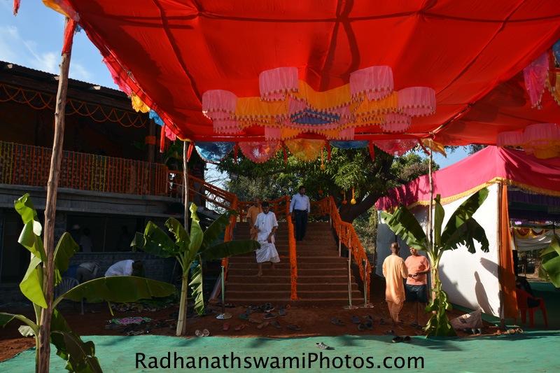 Entrance for GEV Temple