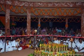 Kalash kept for abhishek of the lord