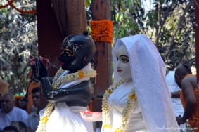 Radha Vrindavanbihariji at GEV Temple