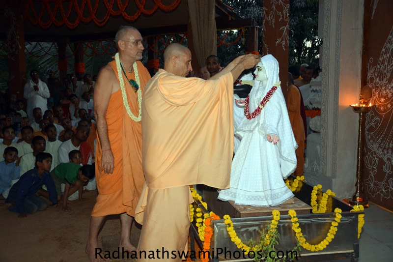 Radhanath Swami Maharaj at GEV