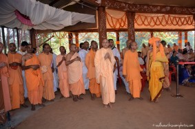 Radhanath Swami at GEV Temple opening
