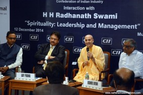 Radhanath Swami Speaks on Leadership and Management
