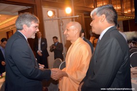 Radhanath Swami at CLO Summit