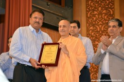 Radhanath Swami Momento to Piramel