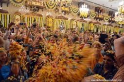 Guests during pushya abhishek festival