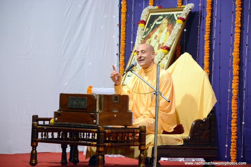 Radhanath Swami Lecture at Juhu