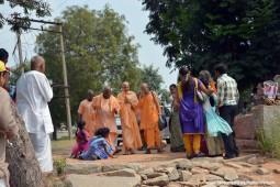 Radhanath Swami at Hampi