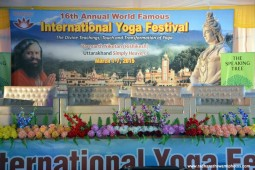 Radhanath Swami at International yoga festival