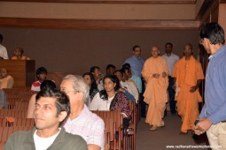 Radhanath Swami at Nehru Centre, Worli