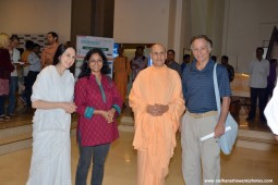 Radhanath Swami with Guests
