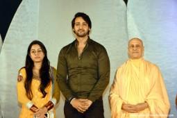 Radhanath Swami with Saurabh Jain