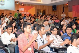 Students of Welingkar during Litomania Event