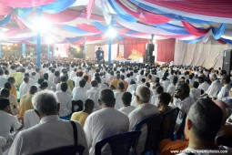 Talk by Radhanath Swami during Hampi Yatra