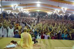 Kirtan by Radhanath Swami during udupi yatra