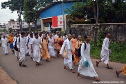 Nagarsankirtan by devotees at Udupi